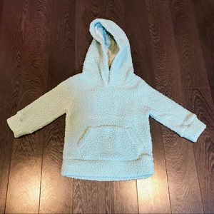 NWOT Infant Fleece Sherpa Hoodie - Blue | 18-24mo